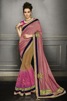 Picture of Classic designer saree with traditional touch