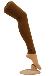 Picture of Ravishing brown color leggings