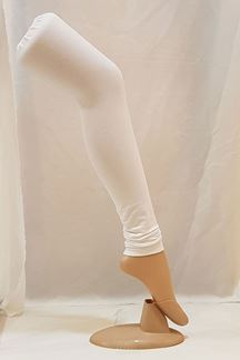 Picture of Lavishing white color cotton leggings
