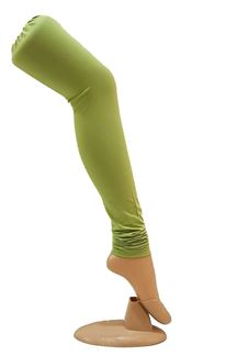 Picture of Marvellous light green cotton leggings