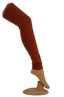 Picture of Dazzling rust color cotton leggings