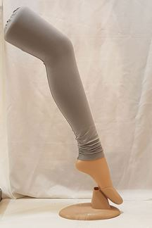 Picture of Wonderful grey color cotton leggings