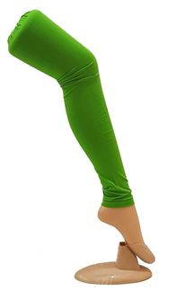 Picture of Stylish wear green color cotton leggings