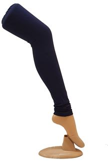 Picture of Decent blue color cotton leggings
