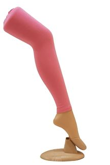Picture of Stunning pink color cotton leggings