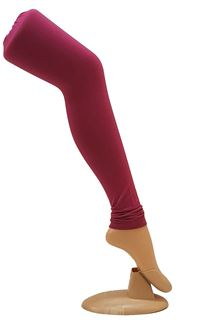 Picture of Charming pink color cotton leggings