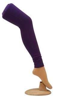 Picture of Fashionable purple colored leggings