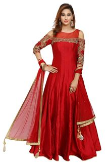 Picture of RED LEHENGA