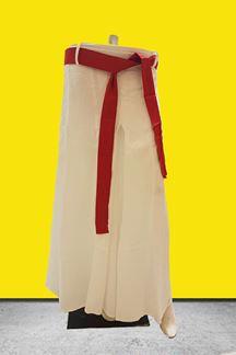 Picture of Attractive white designer palazzo pants