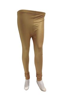 Picture of Golden color shimmer leggings