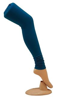 Picture of Royal blue color cotton leggings