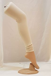 Picture of Refreshing cream cotton leggings