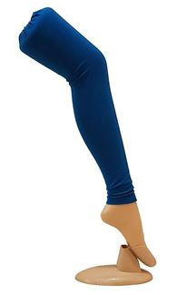 Picture of Fabulous royal blue cotton leggings