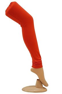 Picture of Fascinating orange color leggings