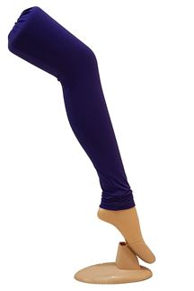 Picture of Smashing dark blue cotton leggings