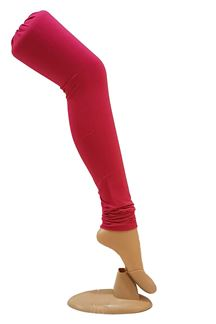 Picture of Amazing pink color cotton leggings
