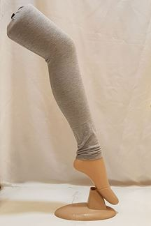 Picture of Fascinating grey color cotton leggings