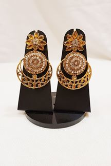 Picture of Ravishing American diamond earrings