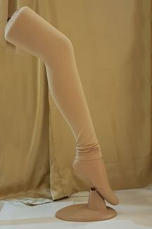 Picture of Mesmerising biege color cotton leggings