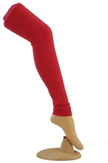 Picture of Vivacious bright red color leggings