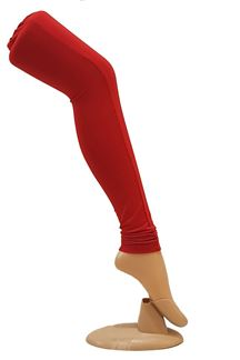 Picture of Charismatic Red color cotton leggings