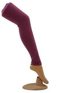 Picture of Marvellous purple color leggings