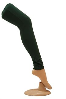 Picture of Adorable green color cotton leggings