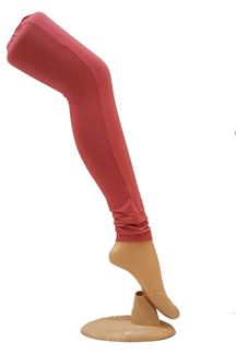 Picture of Pretty pink color cotton leggings