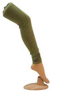 Picture of Gorgeous wear mehndi green leggings