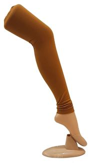Picture of Elegant wear caramel brown leggings