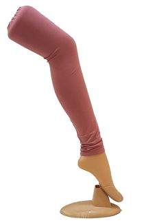 Picture of Classy wear salmon pink color leggings