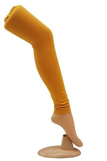 Picture of Trendy wear yellow colored leggings