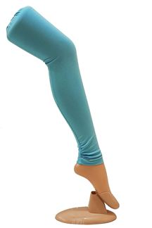 Picture of Stunning wear light blue color leggings
