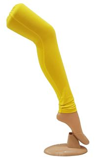 Picture of Pretty bright yellow leggings