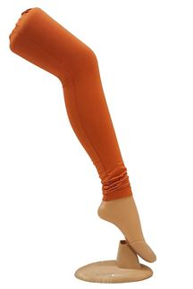 Picture of Unique orange cotton leggings
