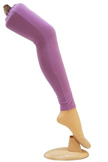 Picture of Fabulous lavender cotton leggings