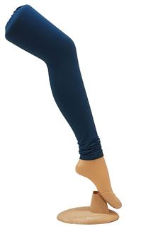 Picture of Stunning teal blue cotton leggings