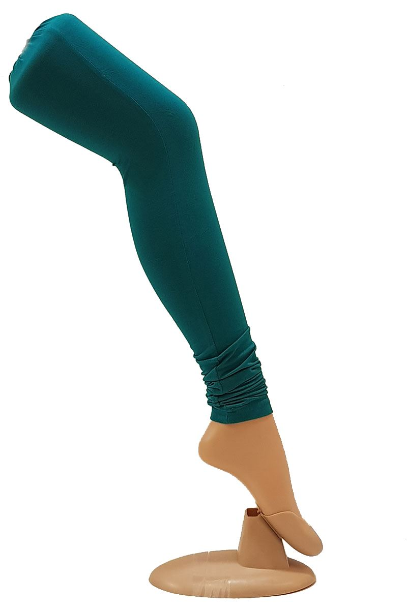 6f2dd745d893 Picture of Mesmerizing peacock green leggings