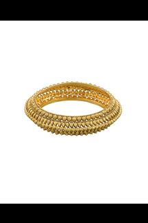 Picture of Distinctive gold plated designer bracelet