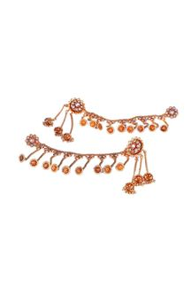 Picture of Lovely gold plated designer earrings