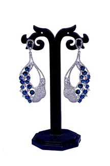 Picture of Lovely American diamonds earrings