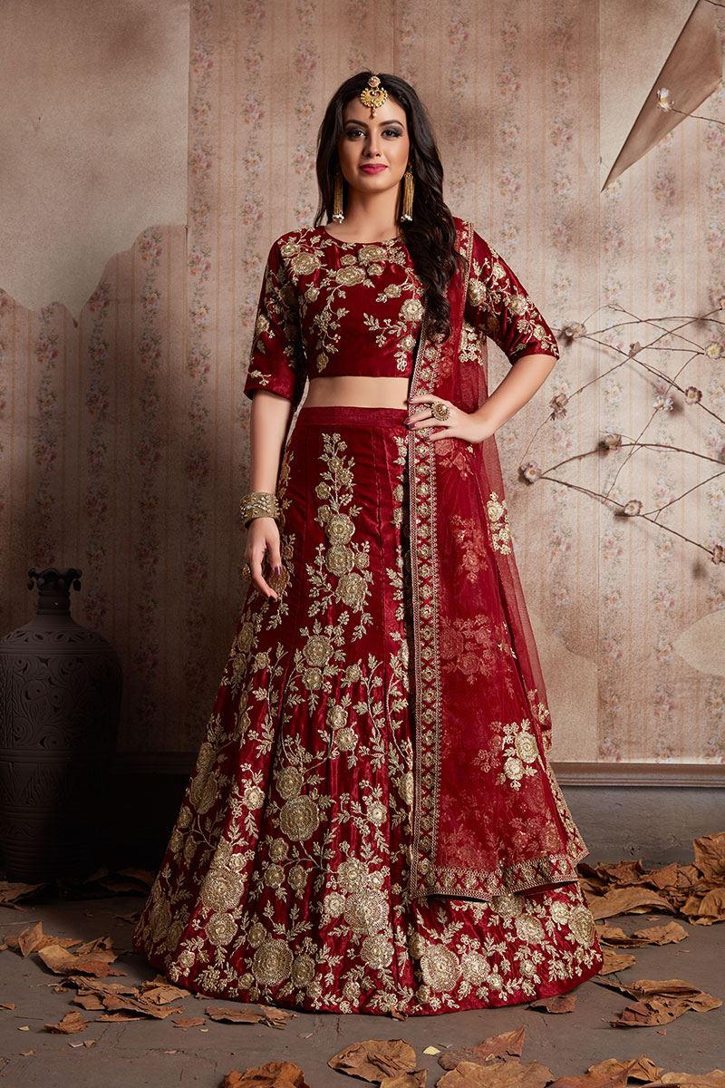 c3f51af639 Wedding lehengas inspired by Bollywood outfits.