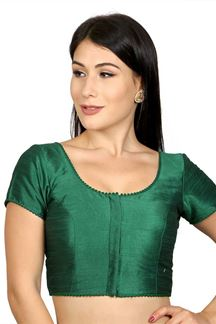 Picture of Hypnotic green designer simple blouse