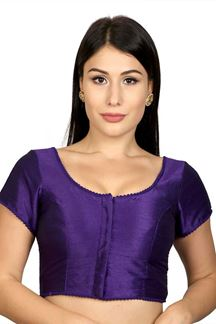 Picture of Astounding purple designer self blouse