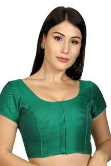 Picture of Stunning green designer party blouse