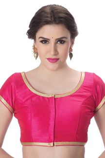 Picture of Classy pink designer bright blouse