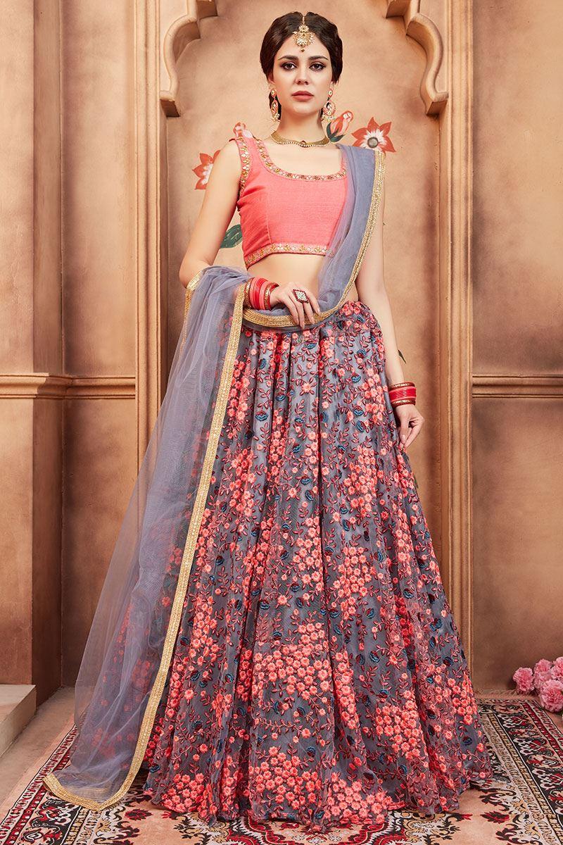 bfb4413eaca07 Lehenga Cholis, Chaniya Cholis, Wedding lenghas, Bridal wear ...