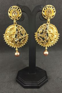 Picture of Fetching gold plated designer earrings