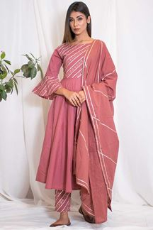 Picture of Trendy casual onion pink designer suit