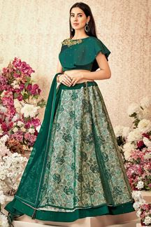 Picture of A Graceful & Green Designer Lehenga Choli